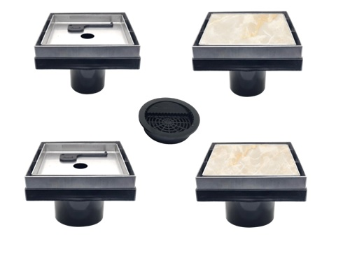 Norika Smart Drain Floor Trap, Decorative Floor Trap, Water Grating, Bathroom Floor Gratings, Stainless Steel Floor Trap